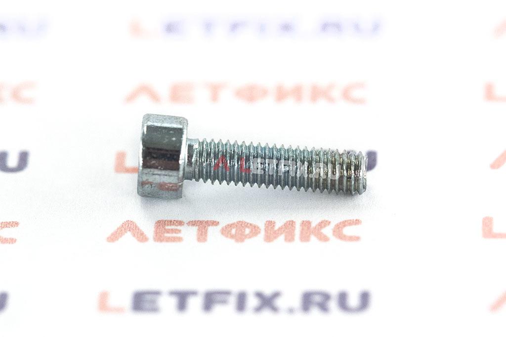 Болт М3х12 оцинкованный с шестигранником класса прочности 8.8 DIN 912