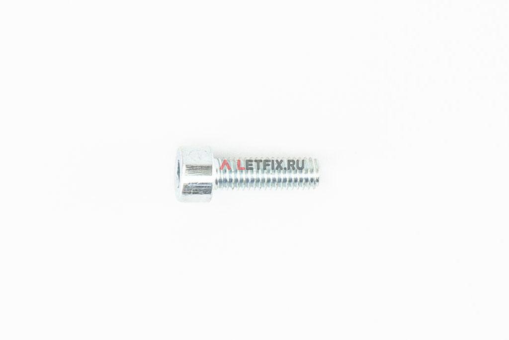 Болт М5х16 оцинкованный с шестигранником класса прочности 8.8 DIN 912