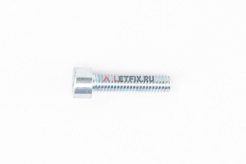 Болт М6х25 оцинкованный с шестигранником класса прочности 8.8 DIN 912