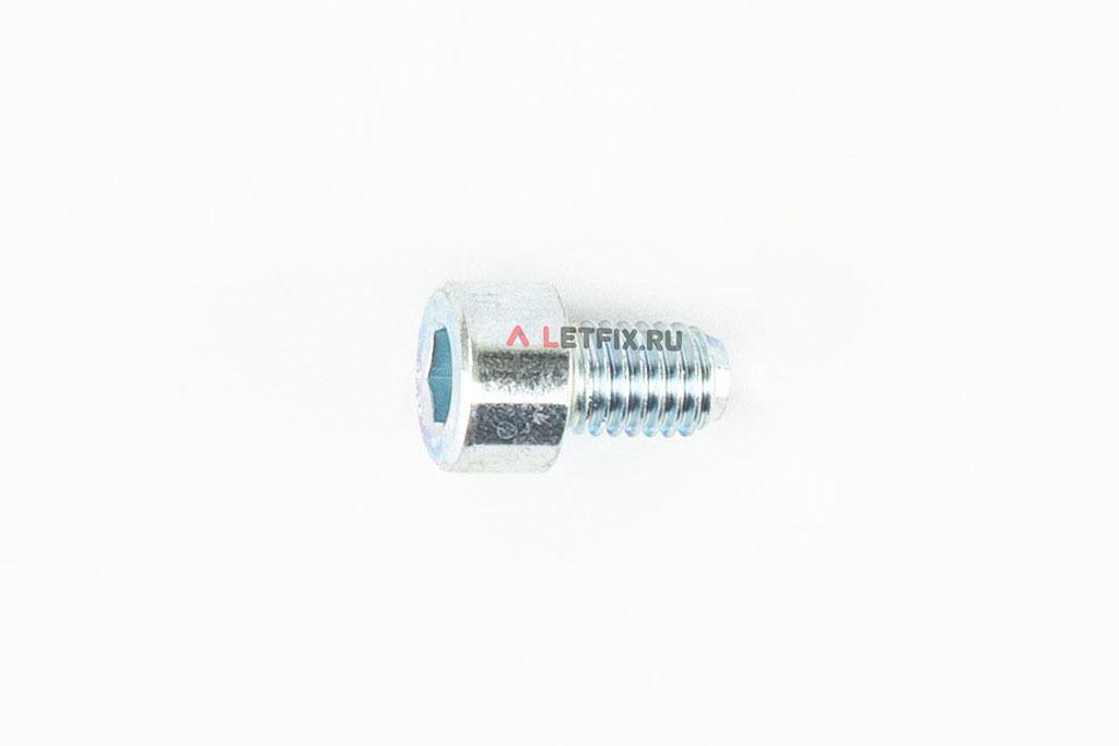 Болт М8х12 оцинкованный с шестигранником класса прочности 8.8 DIN 912