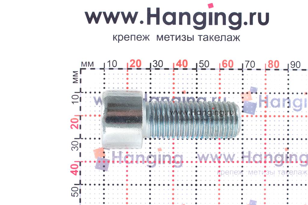 Размеры болтов М16х40 оцинкованных с шестигранником класса прочности 8.8 DIN 912