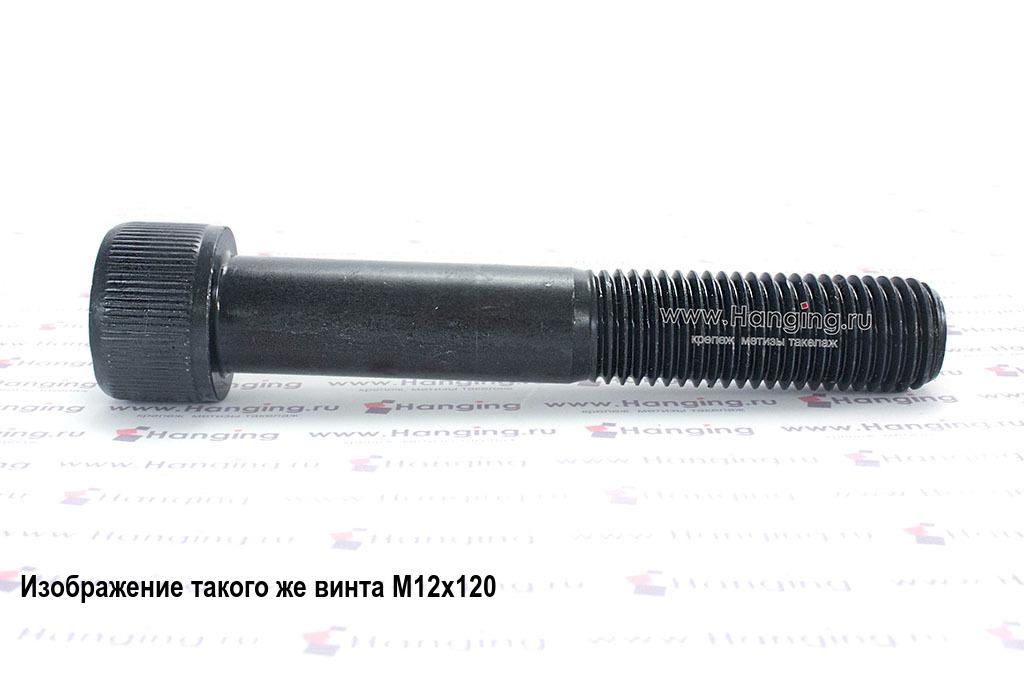 Винт М14х80 с внутренним шестигранником, без покрытия, кл. пр. 12.9, DIN 912