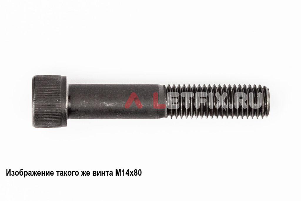 Винт М14х90 с внутренним шестигранником, без покрытия, кл. пр. 12.9, DIN 912