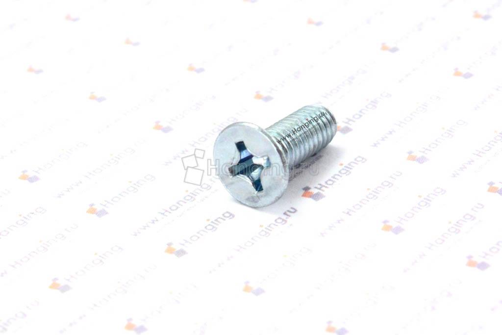 Оцинкованный винт DIN 965 М6*16