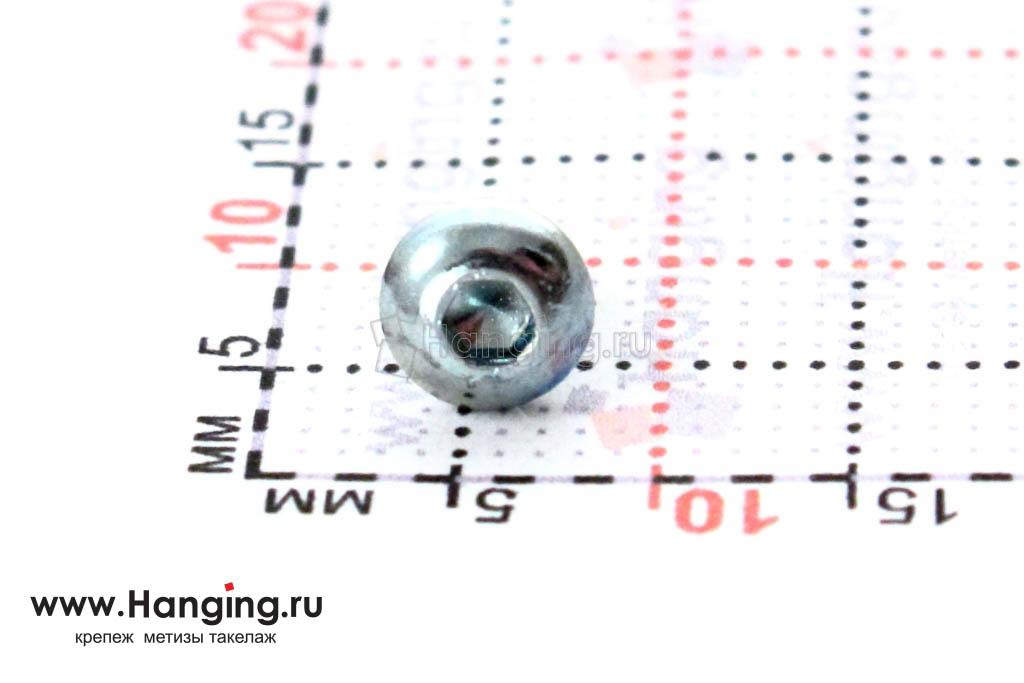 Головка винта ISO 7380 3х6 и ее размеры