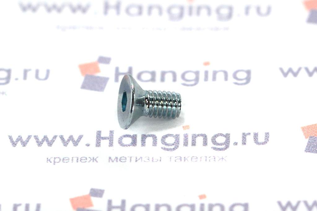 Винт DIN 7991 М3х6 оцинкованный 8.8