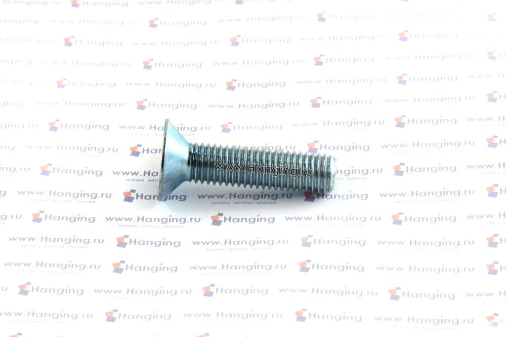 Винт DIN 7991 М12х50 оцинкованный 8.8
