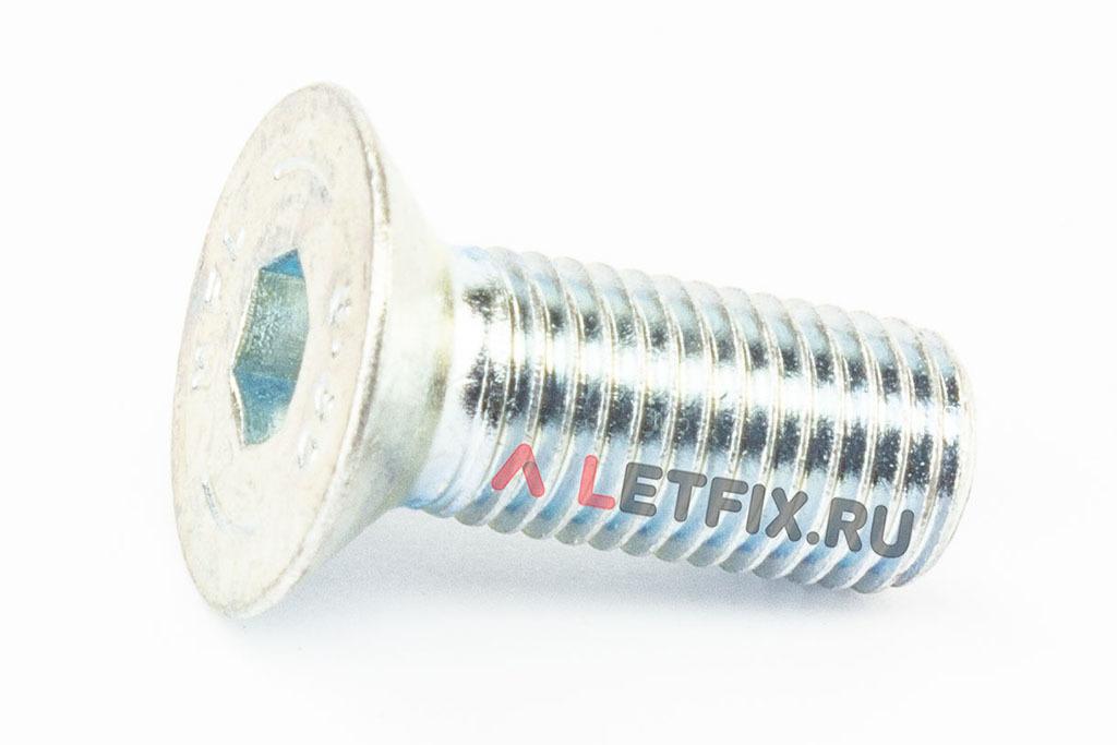 Винт с потайной головкой и внутренним шестигранником DIN 7991 М16х40