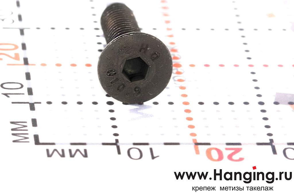 Головка винта М5х20 DIN 7991