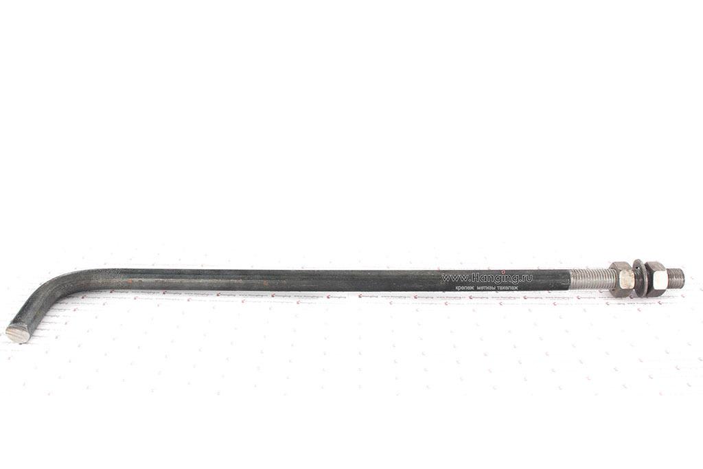 Фундаментный изогнутый анкер М20х600 ГОСТ 24379.1-2012 1.1