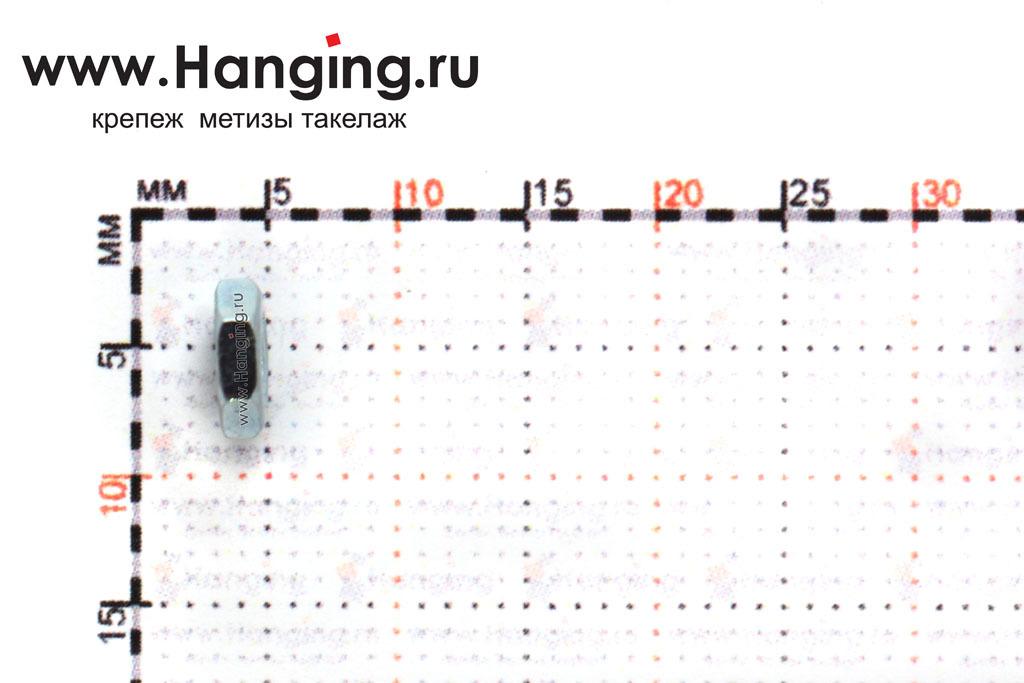 Высота гайки М3 низкой шестигранной