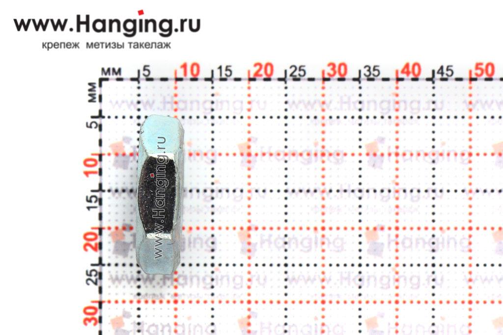 Высота гайки М12 низкой шестигранной