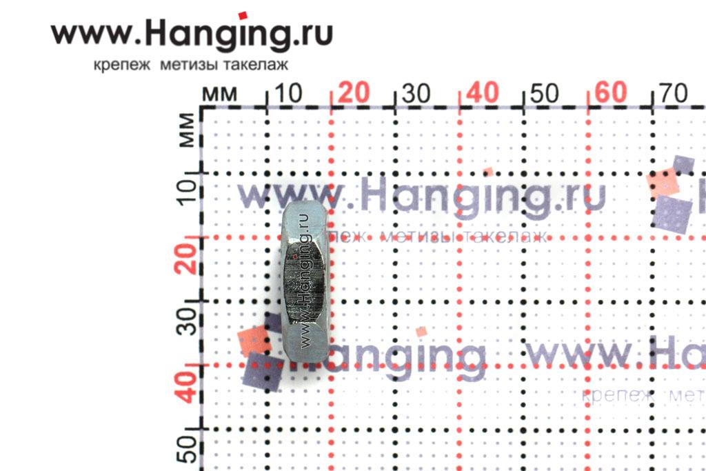 Высота гайки М14 низкой шестигранной