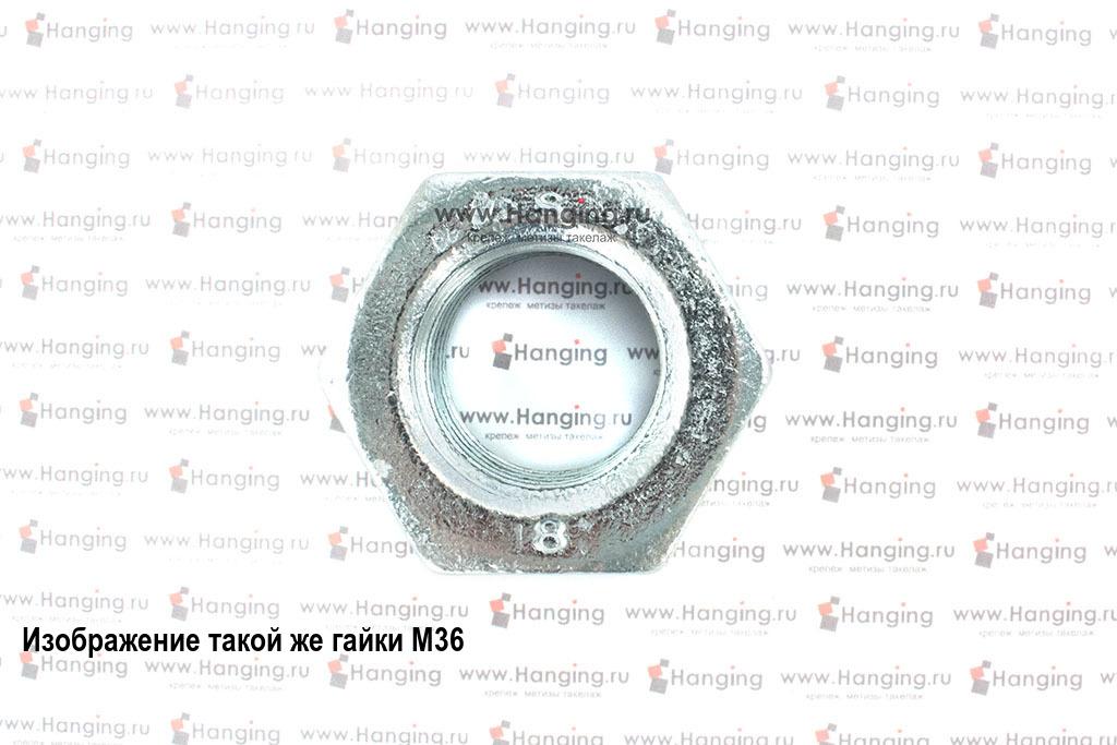 Гайка оцинкованная класса прочности 8 М56