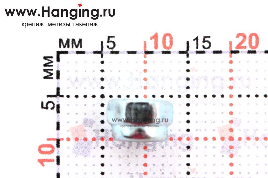 Высота гайки DIN 985 М4