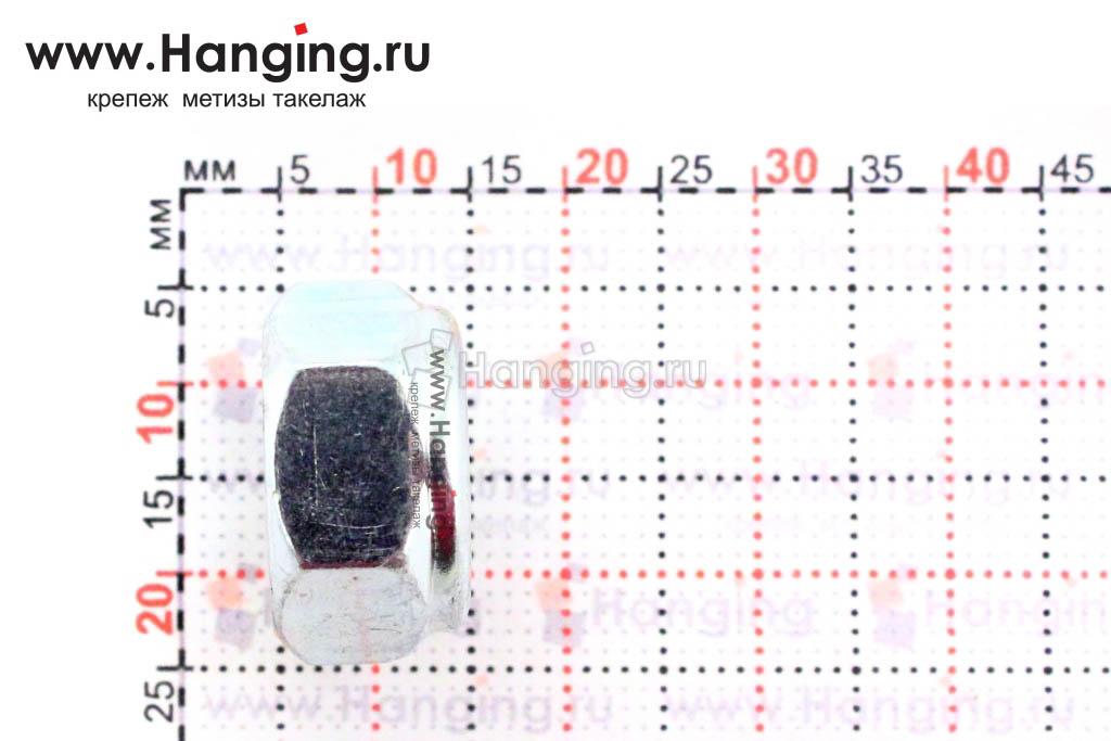 Высота гайки DIN 985 М10