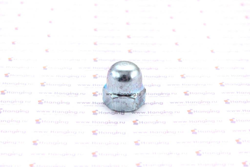 Гайка колпачковая М8 оцинкованная DIN 1587 (аналог ГОСТ 11860-85 исп. 1)