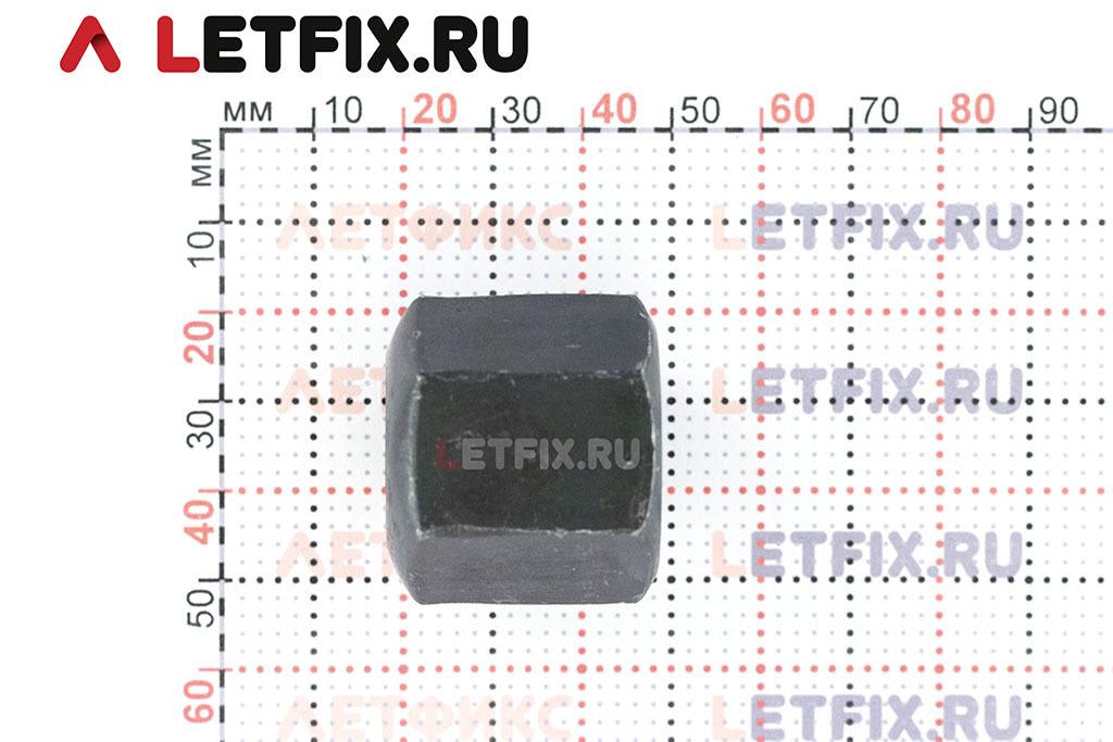 Высота высокой гайки ГОСТ 5931-70 М20 без покрытия (черной)