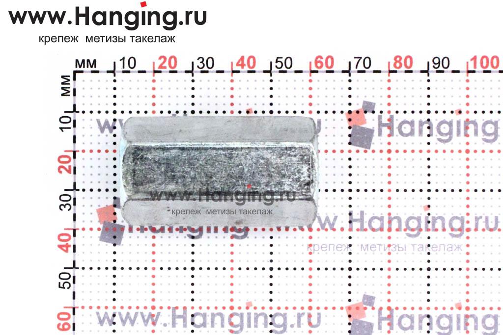 Размеры гайки соединительной М16