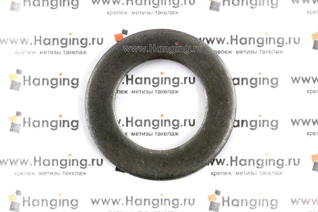 Шайба плоская черная DIN 125 ###