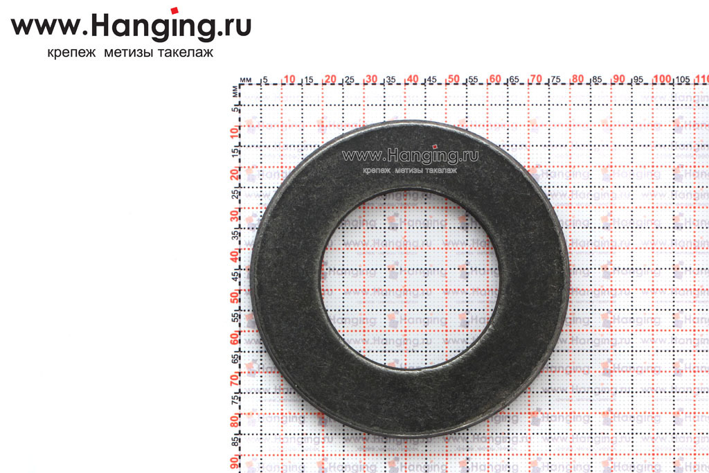 Размеры шайбы без покрытия ГОСТ 11371-78 М42