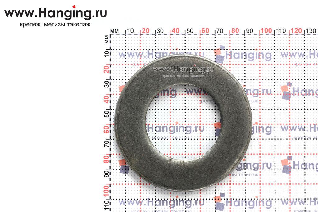 Размеры шайбы без покрытия ГОСТ 11371-78 М48