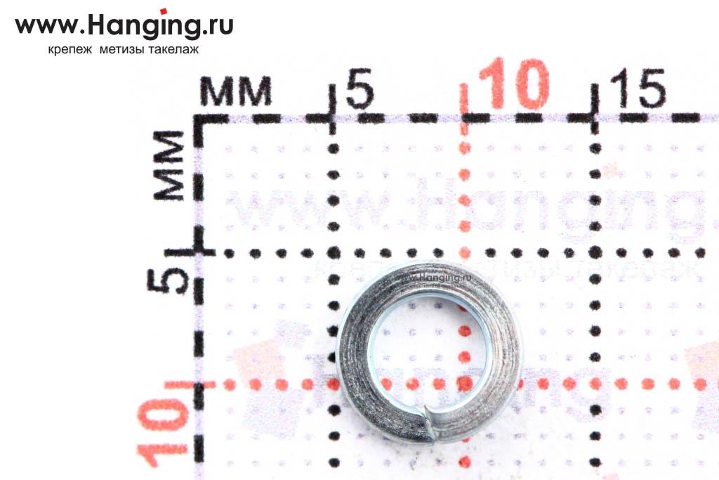 Размеры шайбы Гровера М4 цинк