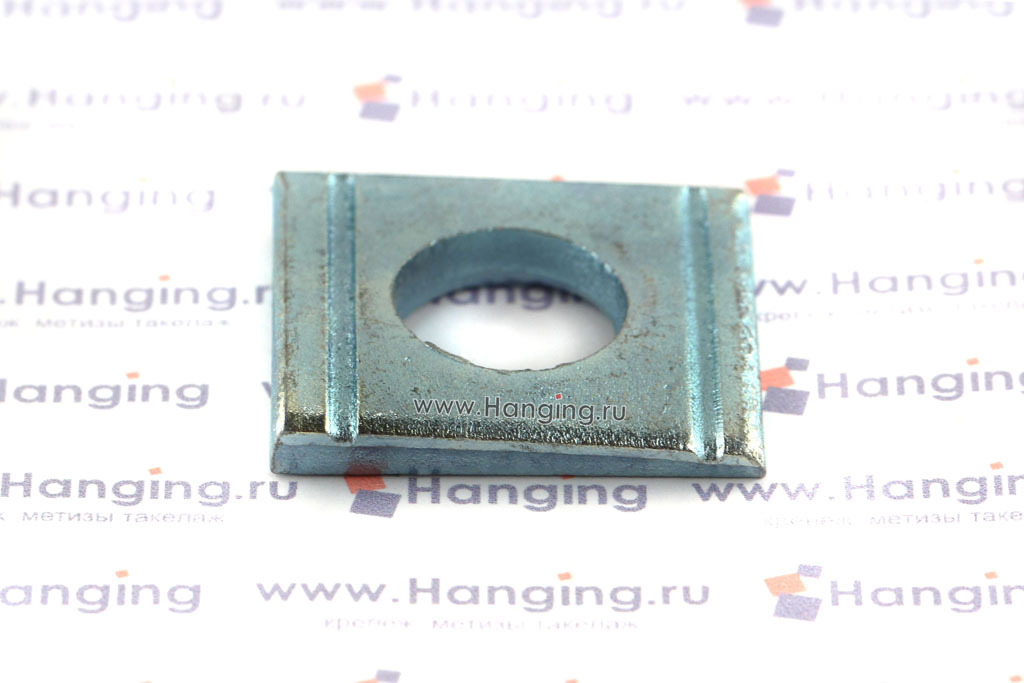 Косые шайбы DIN 434 М12 цинк