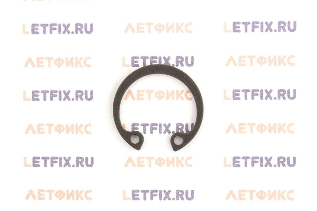 Пружинное быстросъемное упорное внутреннее кольцо 20х1 по стандарту DIN 472 (ГОСТ 13943-86)