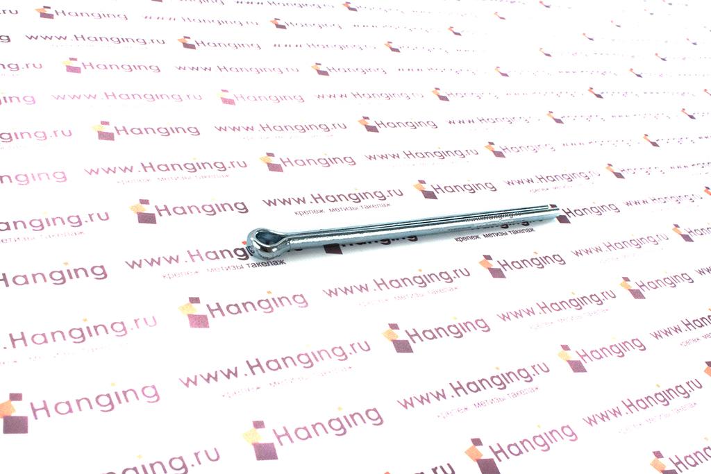 Оцинкованный шплинт DIN 94 1х6