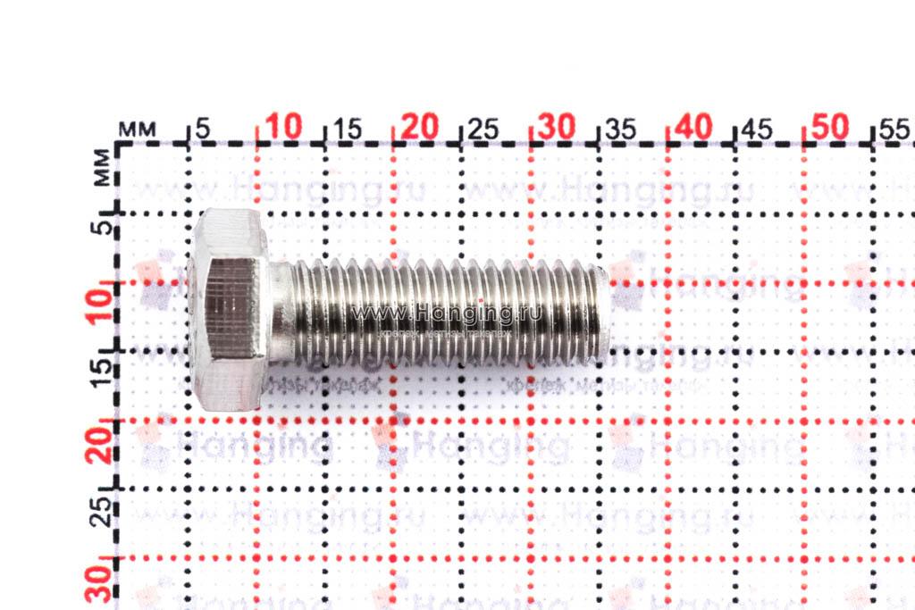 Размеры болта М8х25 DIN 933