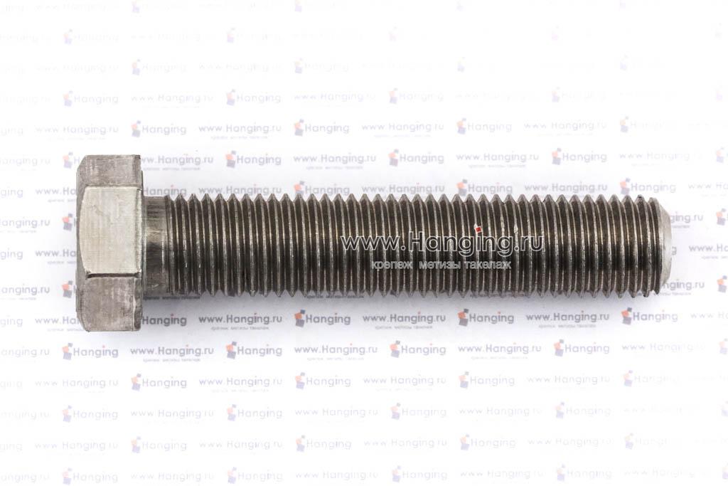 Болты М20х100 с полной резьбой и шестигранной головкой из нержавеющей стали А2