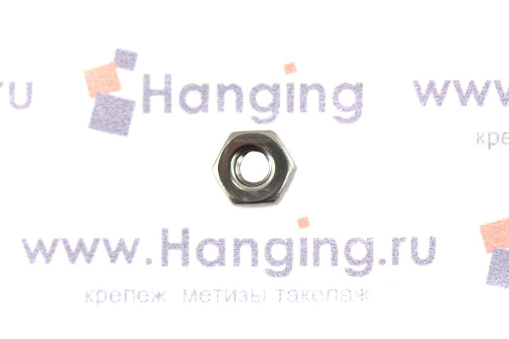 Гайка нержавеющая сталь А2 М2,5