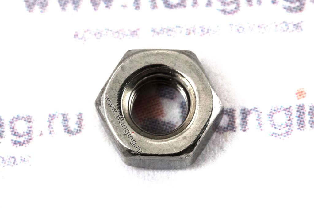 Гайка нержавеющая сталь А4 М3