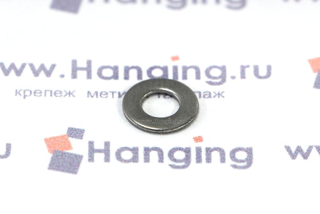 Шайба М3 плоская из нержавеющей стали А2 DIN 125