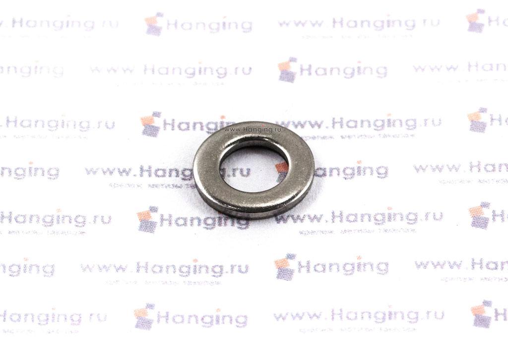 Шайба М6 плоская из нержавеющей стали А2 DIN 125