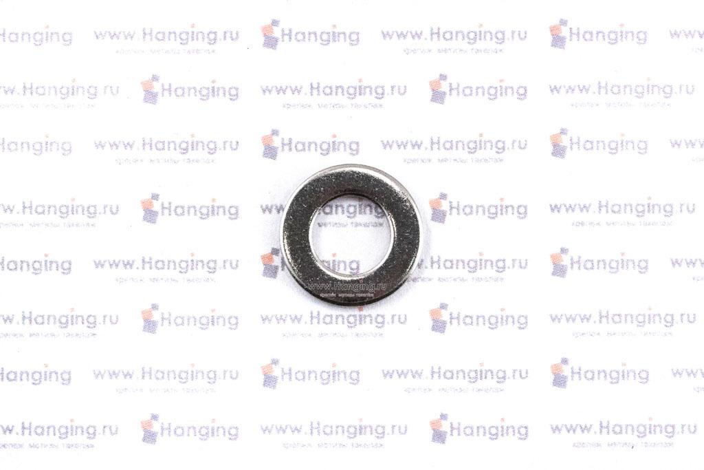Шайбы М8 плоские из нержавеющей стали А2 DIN 125