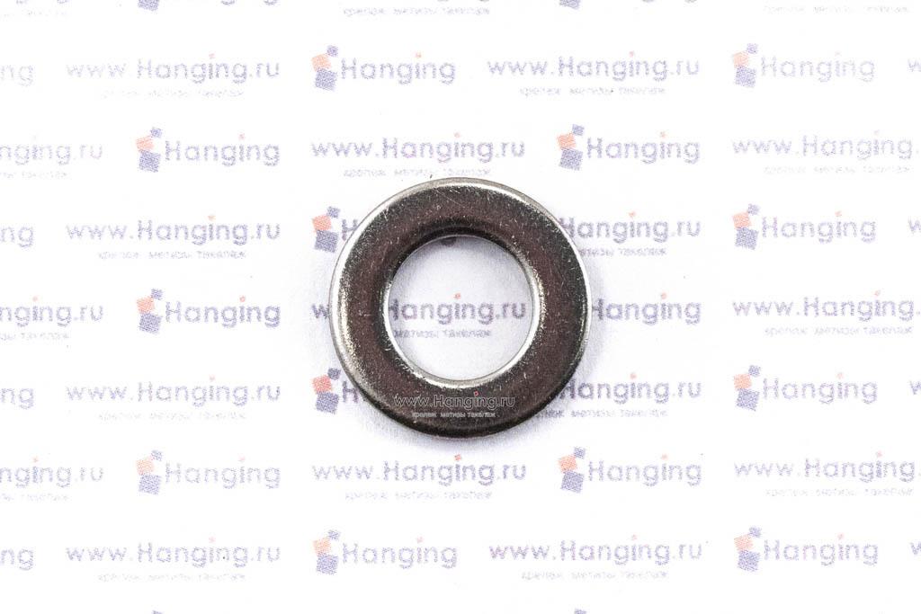 Шайбы М10 плоские из нержавеющей стали А2 DIN 125