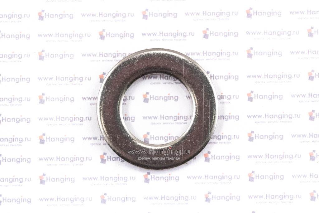Шайбы М20 плоские из нержавеющей стали А2 DIN 125