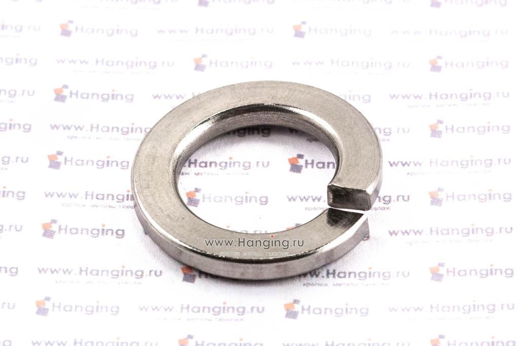 Шайба М20 пружинная (гровер) из нержавеющей стали А2 DIN 127