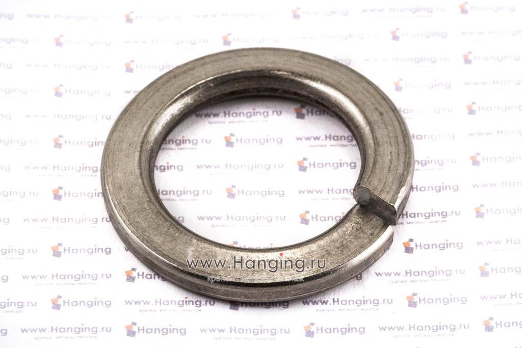 Шайба М36 пружинная (гровер) из нержавеющей стали А2 DIN 127