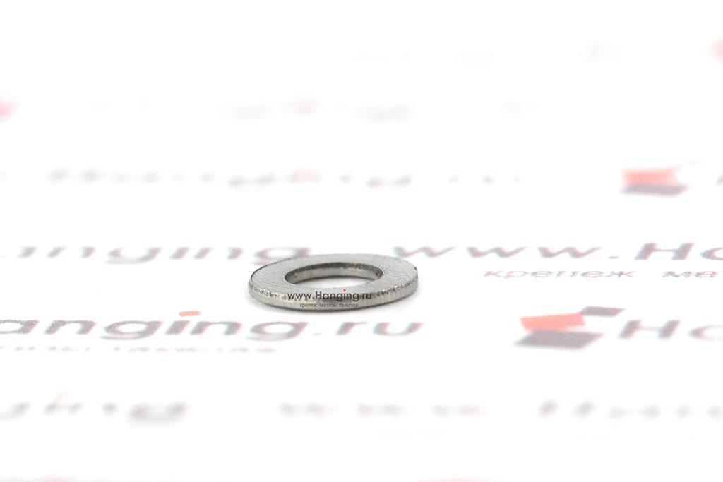 Шайбы М3 узкие уменьшенные из нержавеющей стали А2 DIN 433