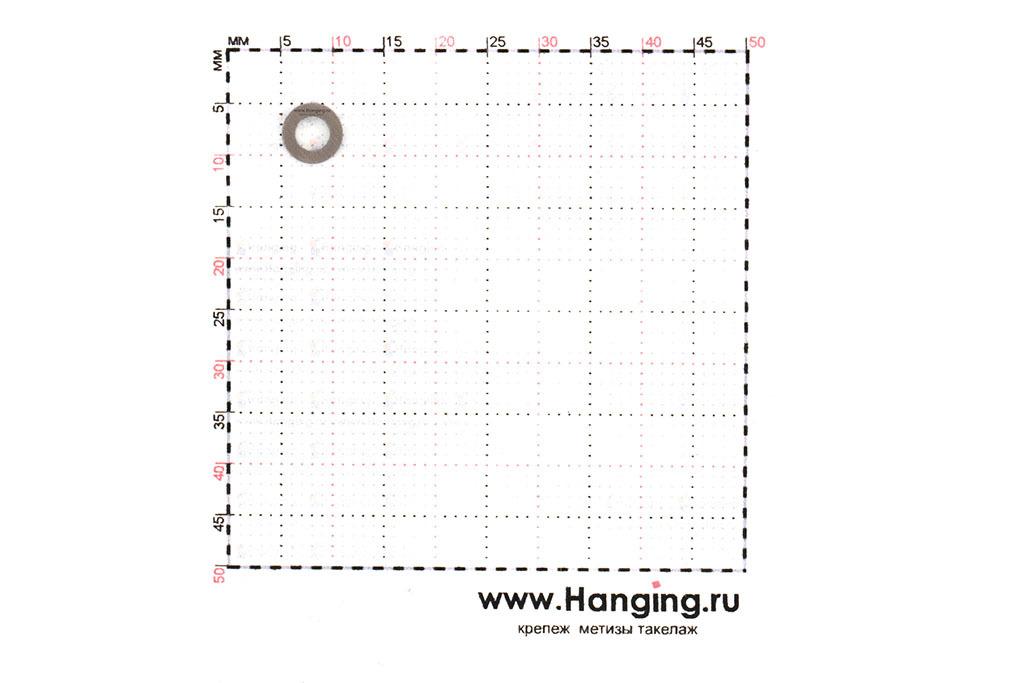 Размеры шайбы М3 узкой уменьшенной из нержавеющей стали А2 DIN 433