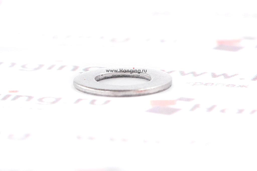 Шайбы М4 узкие уменьшенные из нержавеющей стали А2 DIN 433