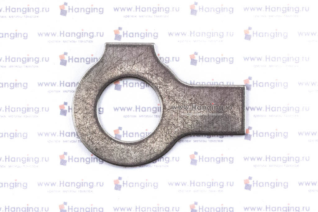 Шайбы М14 стопорные с двумя лапками из нержавеющей стали А2 DIN 463