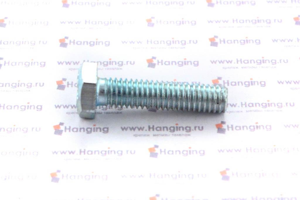 Болт оцинкованный с полной резьбой М6х25 DIN 933 кл. пр. 4.8