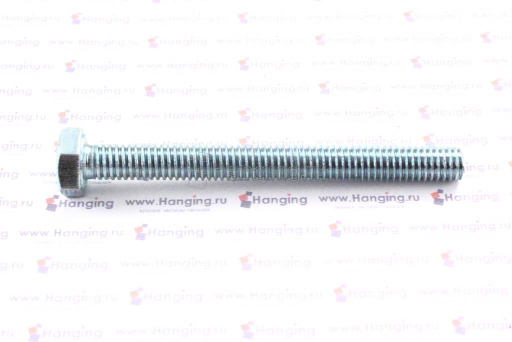 Болт оцинкованный с полной резьбой М6х60 DIN 933 кл. пр. 4.8
