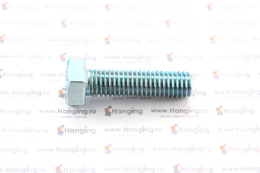 Болт оцинкованный с полной резьбой М8х30 DIN 933 кл. пр. 4.8