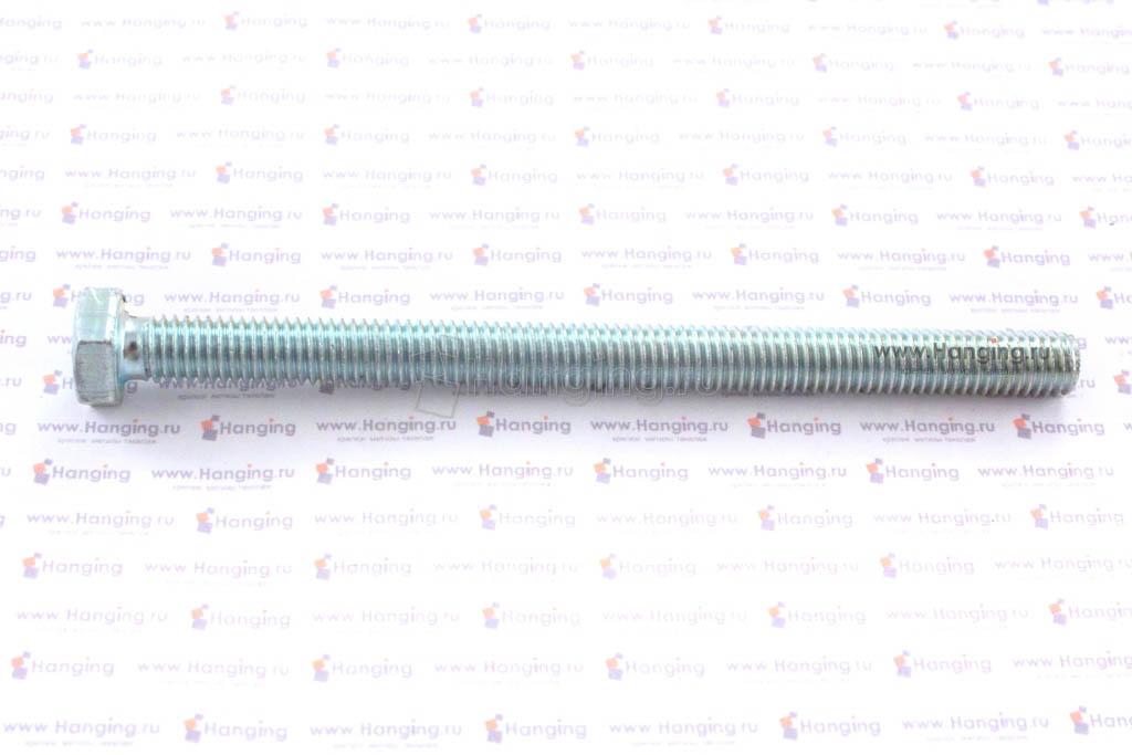 Болт оцинкованный с полной резьбой 4.8 М8х110