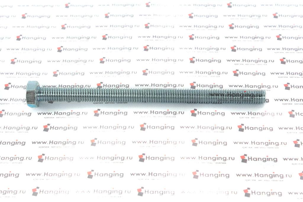 Болт оцинкованный с полной резьбой 4.8 М8х120